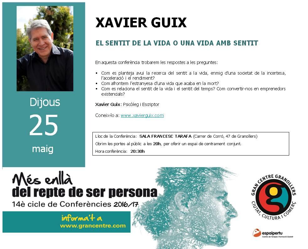 Conferencia-XAVIER GUIX