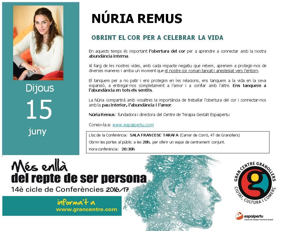 Conferencia-NURIA REMUS