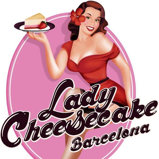 logo lady cheesecake bcn