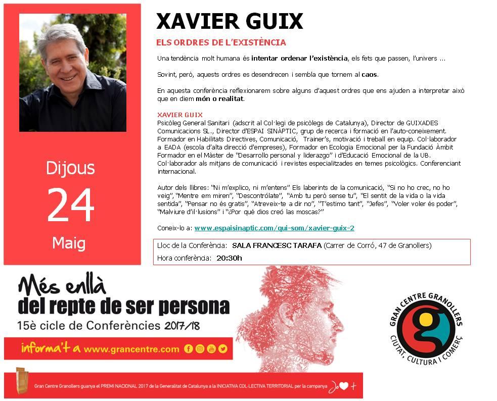 Presentacio_Xavierguix