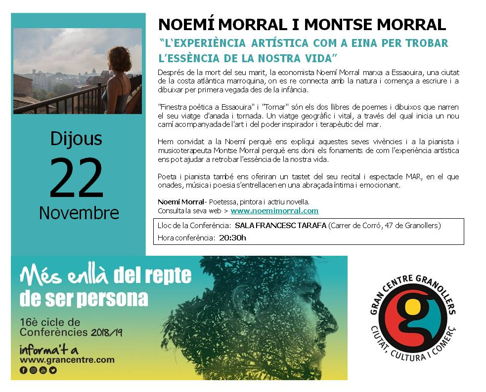 Presentacio Noemi Morral